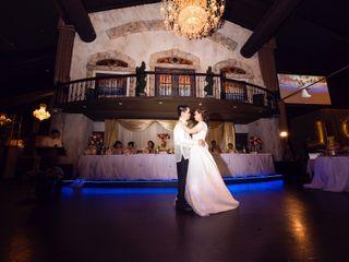 The wedding of Teresa and Raymond
