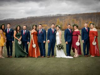 The wedding of Tara and Andrew 2
