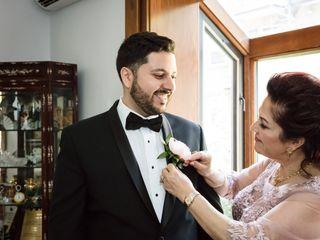 The wedding of Asma and Rochdi 2