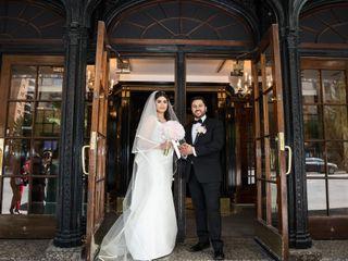 The wedding of Asma and Rochdi