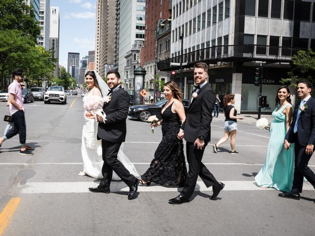 Rochdi and Asma's wedding in Montreal, Quebec 18