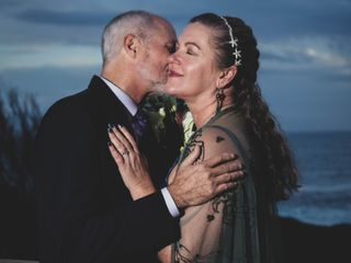 The wedding of Alicia and Wayne 1
