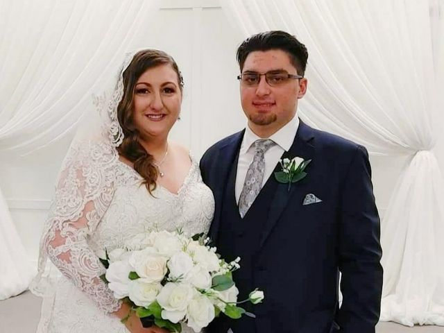 The wedding of Gioia and Steven