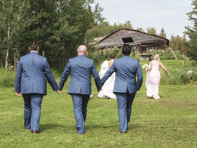 Kyle and Laura's wedding in Edmonton, Alberta 28