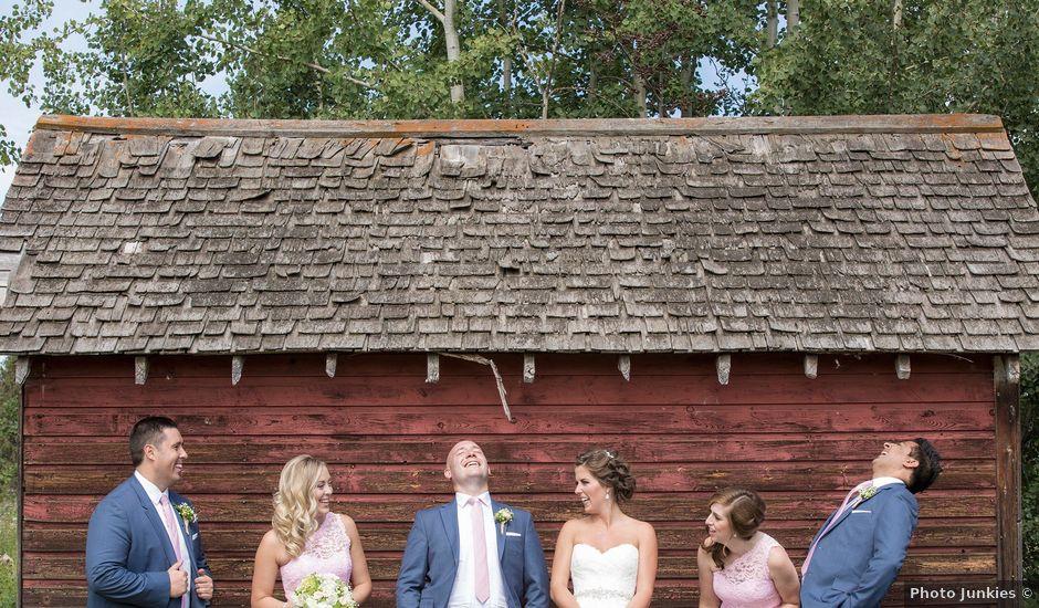Kyle and Laura's wedding in Edmonton, Alberta