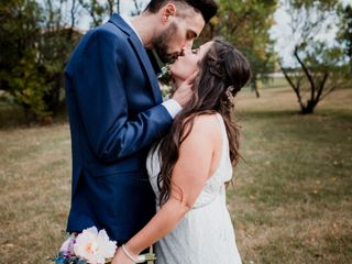 The wedding of Dawn and Ryan