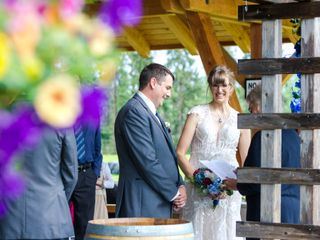 The wedding of Carrie and Josh 1