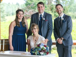 The wedding of Carrie and Josh 3