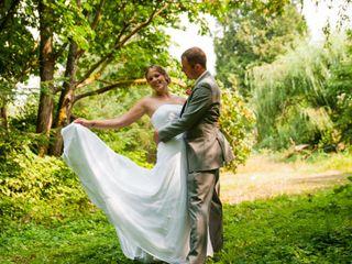 The wedding of Alysha and Trevor