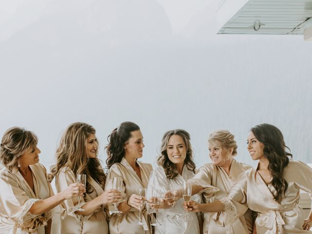 Brady and Rachel's wedding in Lake Louise, Alberta 10