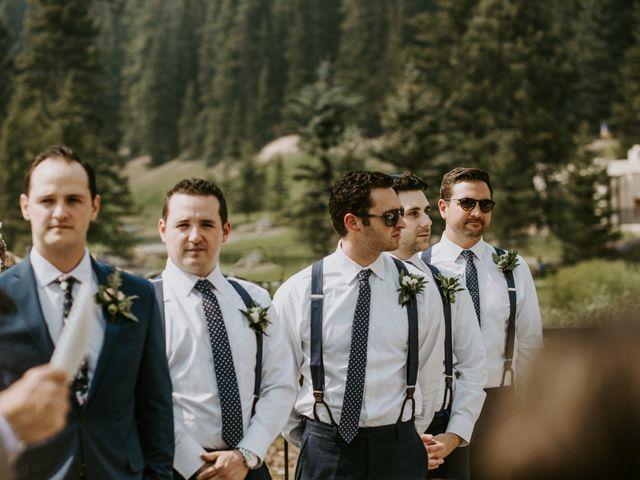 Brady and Rachel's wedding in Lake Louise, Alberta 13