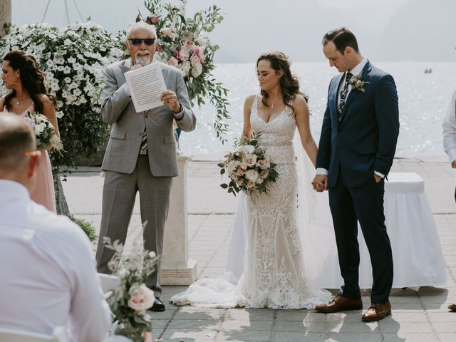 Brady and Rachel's wedding in Lake Louise, Alberta 16
