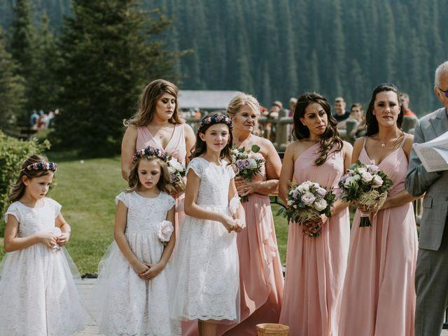 Brady and Rachel's wedding in Lake Louise, Alberta 17