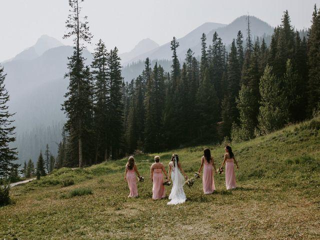 Brady and Rachel's wedding in Lake Louise, Alberta 23