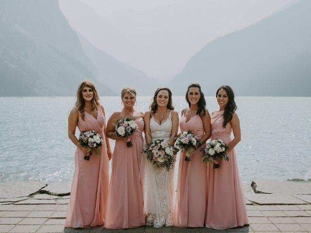 Brady and Rachel's wedding in Lake Louise, Alberta 2