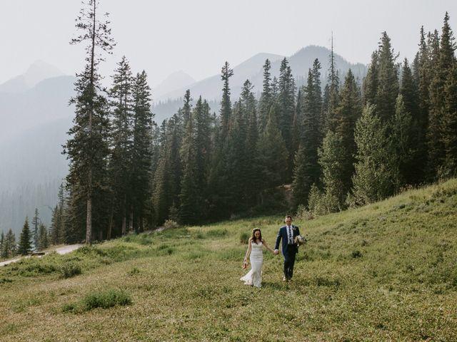 Brady and Rachel's wedding in Lake Louise, Alberta 24