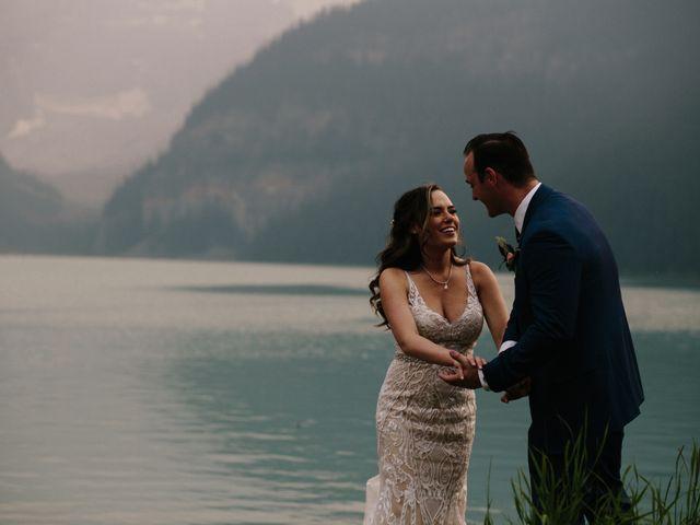 Brady and Rachel's wedding in Lake Louise, Alberta 26