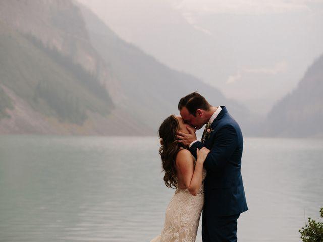 Brady and Rachel's wedding in Lake Louise, Alberta 27