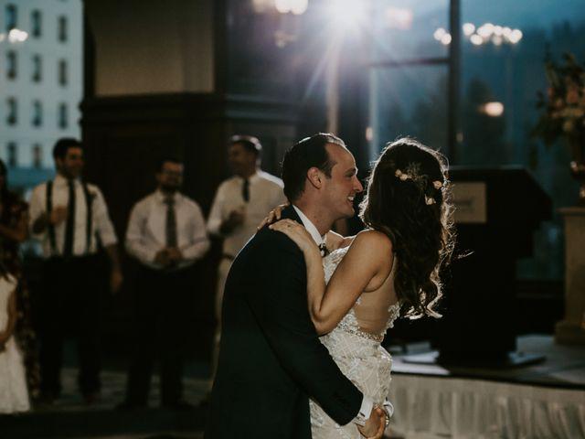 Brady and Rachel's wedding in Lake Louise, Alberta 30
