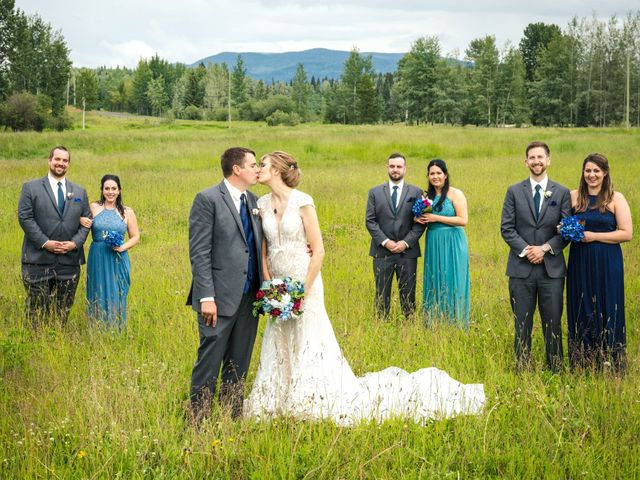 The wedding of Carrie and Josh