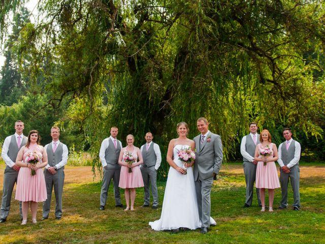 Alysha & Trevor's Real Wedding By Burnaby Lake Pavilion