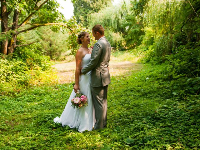 Trevor and Alysha's wedding in Burnaby, British Columbia 1