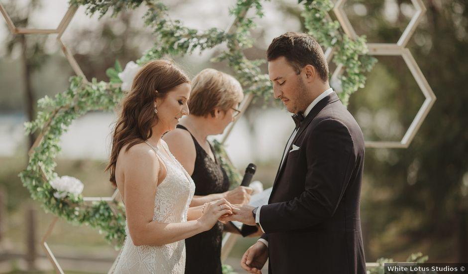 Brennen and Kari's wedding in Regina, Saskatchewan
