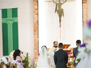 The wedding of Izobelle and Roscil 3
