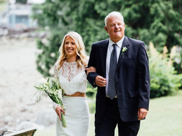 Mike and Alyssa's wedding in West Vancouver, British Columbia 7