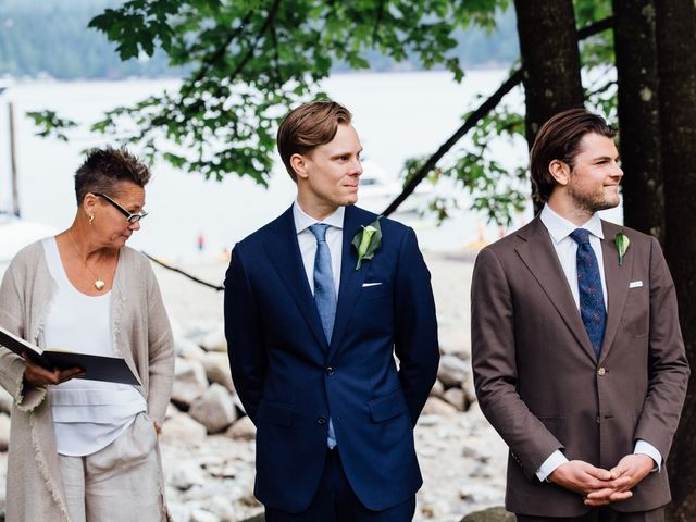 Mike and Alyssa's wedding in West Vancouver, British Columbia 8