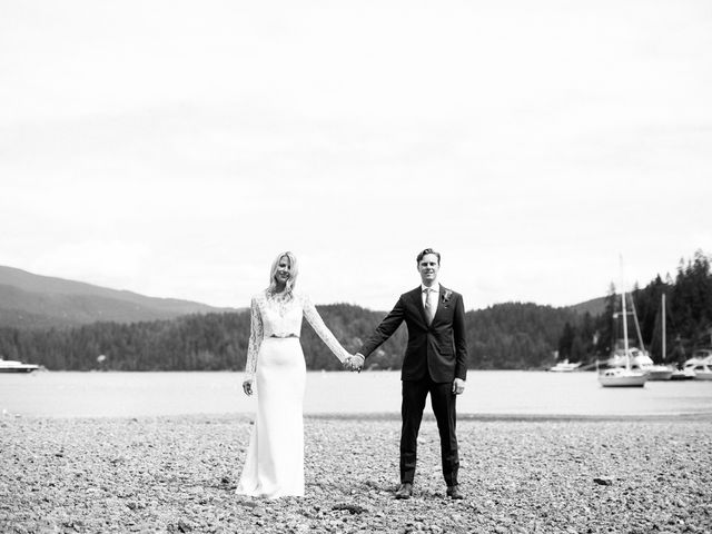 Mike and Alyssa's wedding in West Vancouver, British Columbia 24