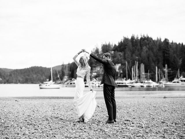 Mike and Alyssa's wedding in West Vancouver, British Columbia 25