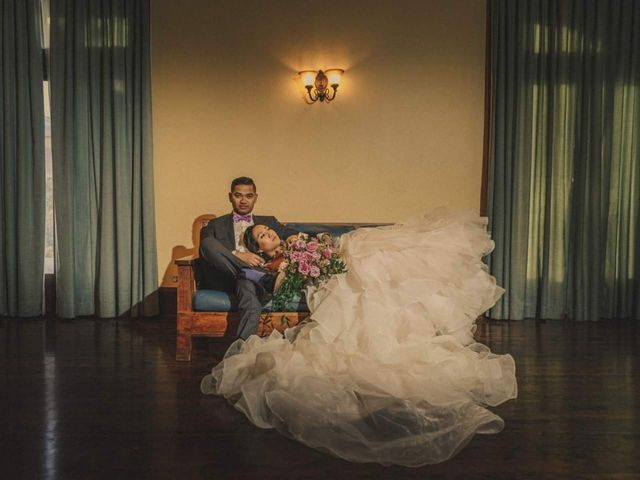 The wedding of Izobelle and Roscil