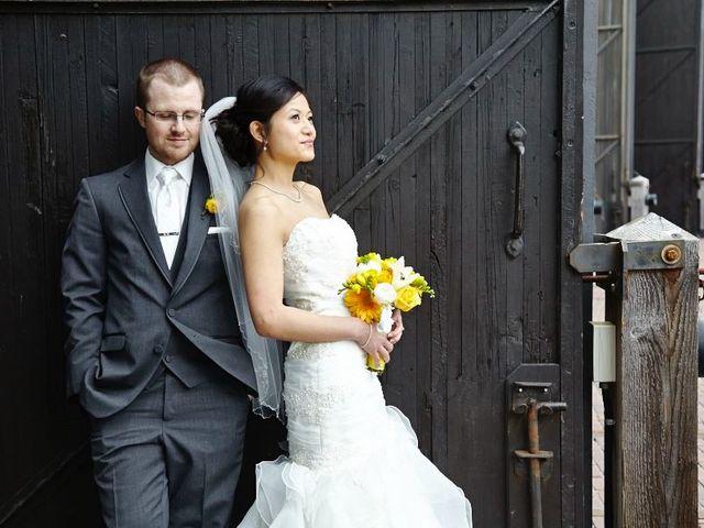 The wedding of Carol and Jeff