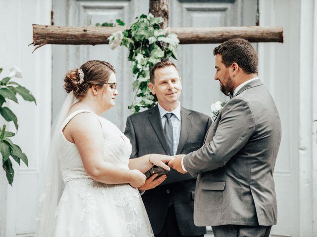 The wedding of Zach and Taylor