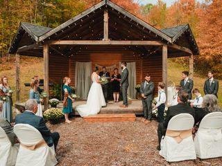The wedding of Joe and Alix
