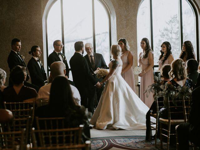 Ryan and Sara's wedding in Banff, Alberta 15