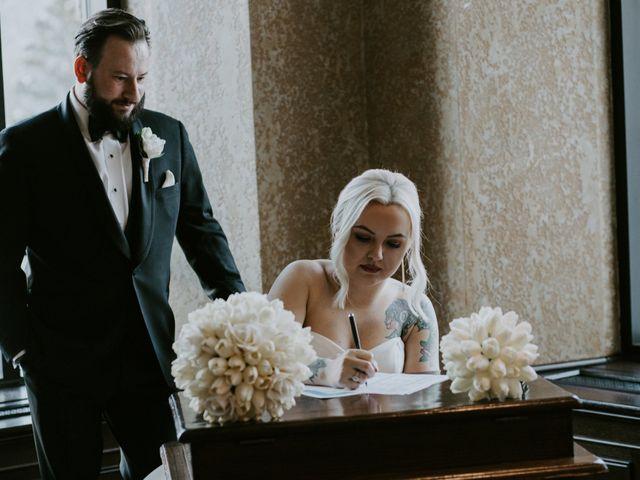 Ryan and Sara's wedding in Banff, Alberta 16