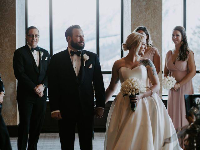 Ryan and Sara's wedding in Banff, Alberta 17
