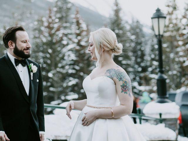 Ryan and Sara's wedding in Banff, Alberta 22