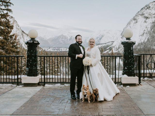 Ryan and Sara's wedding in Banff, Alberta 23