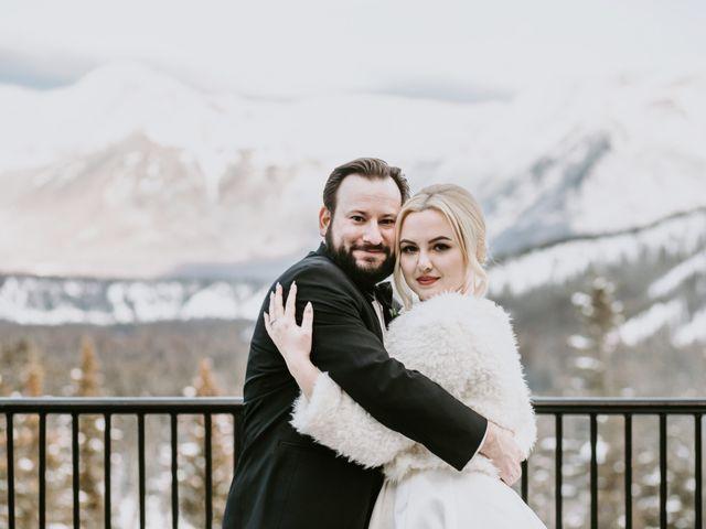 Ryan and Sara's wedding in Banff, Alberta 24