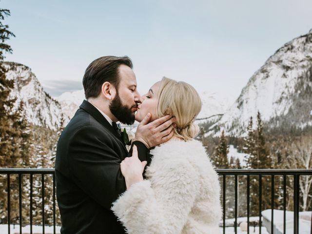Ryan and Sara's wedding in Banff, Alberta 25