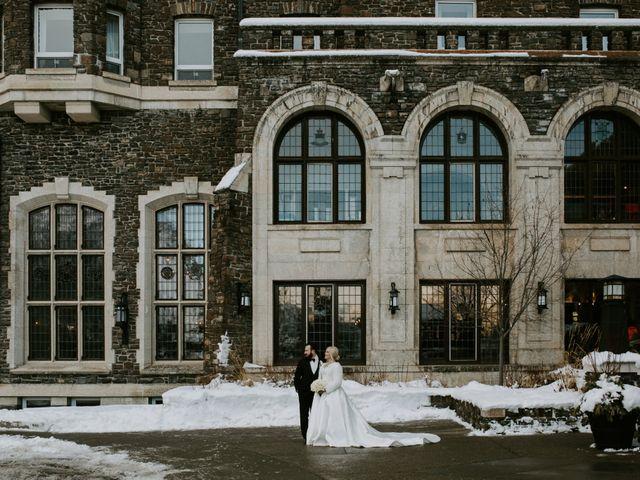 Ryan and Sara's wedding in Banff, Alberta 26