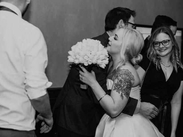 Ryan and Sara's wedding in Banff, Alberta 42