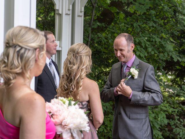 Daniel and Lorri's wedding in Ancaster, Ontario 12