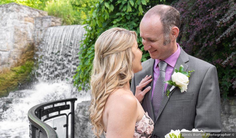 Daniel and Lorri's wedding in Ancaster, Ontario