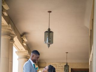 The wedding of Emonie and Andre