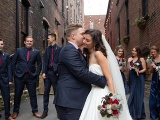 The wedding of Brooke and Petros