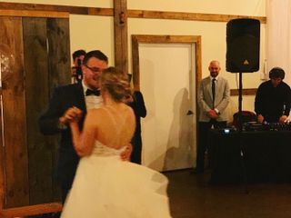 The wedding of Emily and Steve 1
